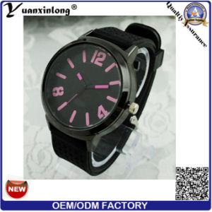 Yxl-171 Custom Logo Cheapest Silicone Watch Men Colorful Dial Casual Big Dial Sport Quartz Wrist Watch Mens pictures & photos