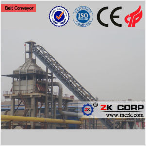 Large Capacity Incline Belt Conveyor Machine for Powdered Material pictures & photos