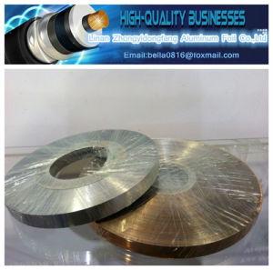 Double Sided Insulation Tape Al/Pet/Al Aluminum Mylar Tape (COPPER COLOR) pictures & photos