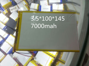 35100145pl 3.7V 7000mAh Polymer Lithium Ion Battery for Tablet PC pictures & photos