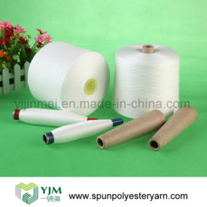 T50s 100% Polyester Spun Yarn pictures & photos