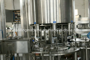 Linear Type Automatic Edible Oil Filling Equipment with Ce Certificate pictures & photos