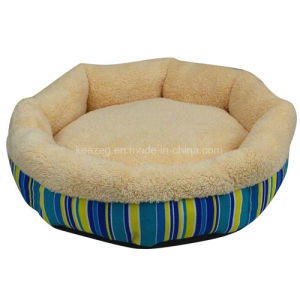 Circular Printing Canvas Pet Dog Bed/Cushion/Cat Bed (KA0089) pictures & photos