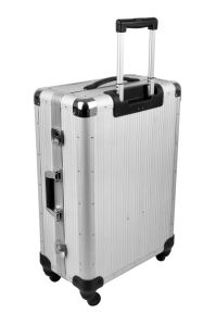Aluminum Transparent Suitcase pictures & photos