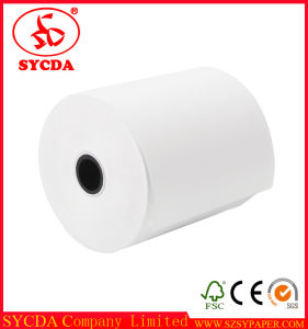 Top Brightness Smooth Cut 80mm Thermal Paper Roll pictures & photos