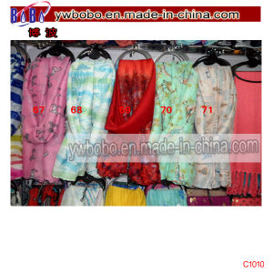 Yiwu Market Silk Scarf Cotton Bandana Freight Agent (C1010) pictures & photos