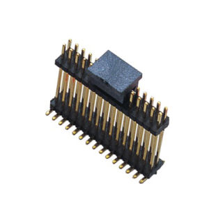 1.27mm Single Plastic Double 180 ° SMT Pin Header pictures & photos