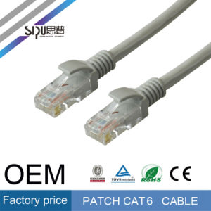 Sipu RJ45 UTP CAT6 Patch Cable Factory Price LAN Cable pictures & photos