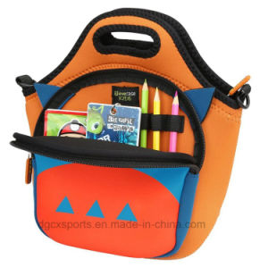 Factory Price Neoprene Lunch Tote Bag with Shoulder Strap pictures & photos