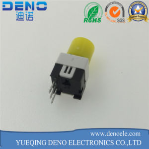 Yellow Cap Self Locking Switch pictures & photos