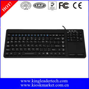 Simple Washable Keyboard with Touchpad