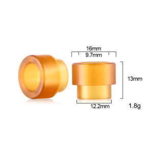 2017 Vivismoke POM Material Drip Tip for 528 Goon Resin Drip Tip Kennedy Drip Tip pictures & photos