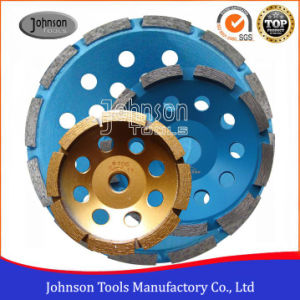 105mm-180mm Diamond Cup Wheel with Single Row for Stone pictures & photos