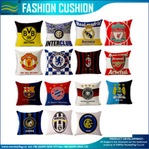 Football Team Club Logo Printing Cushion Cover (B-NF42F23013) pictures & photos