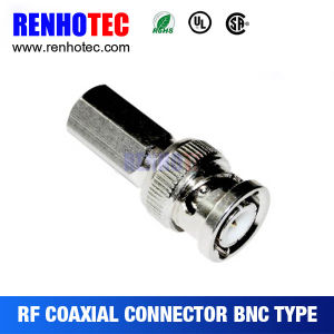 BNC Plug Connector Twist on Coaxial Cable RF Connector pictures & photos