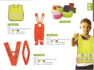 Children Style Reflective Vest Clothes for Traffic Safety Protection pictures & photos