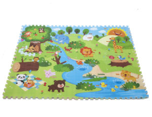 Baby Play Mat Stitching Style Lock Safety Material Practice Crawling for Baby 0845A pictures & photos