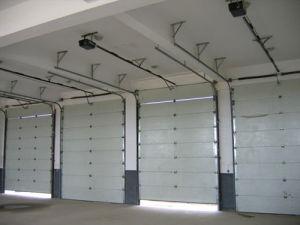 Overhead Door Repair Shop Doors Metal Garage Door (Hz-SD020) pictures & photos