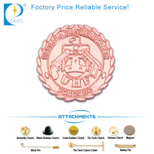 OEM Custom Car Shape Nickle Pin Badges in Ancient Style pictures & photos