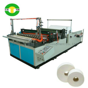 Automatic Slitting and Rewinding Jumbo Roll Toilet Paper Making Machine pictures & photos