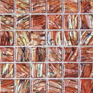 Hot Sale Dye Shell Mother of Pearl Mosaic Tile pictures & photos