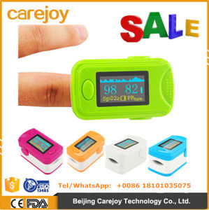 New OLED Screen Color Display Finger Pulse Oximeter Manufacturer Five Color Optional-Fanny pictures & photos