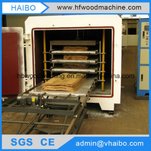 Drying Lumber by High Frequency Vacuum Wood Dryer Machine pictures & photos