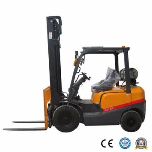 Promotional Price Nissan Gasoline/LPG Forklift Mini Tractor for Sale pictures & photos