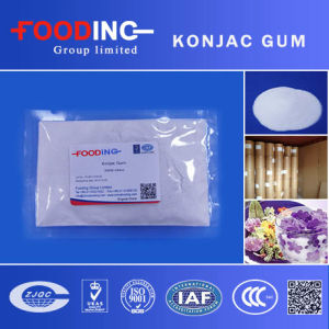 High Quality Organic Glucomannan Powder Konjac Gum Manufacturer pictures & photos