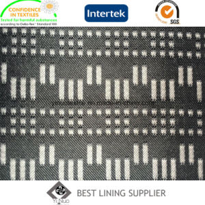 Polyester Men′s Suit Lining Fabric Supplier pictures & photos
