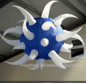 Inflatable Ball for Decoration with LED Lights