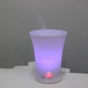 USB Charger Cool Mist Essential Oil Electroplate Plastic LED Multicolor Lighting Diffuser pictures & photos