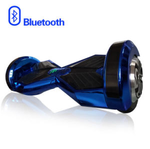 8 Inch Self Balanced 158wh Electric LED Skateboard with Bluetooth
