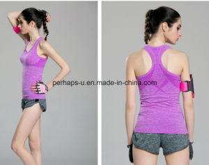 Training Sports Vest Female Professional Running Top Fitness Yoga Clothes pictures & photos