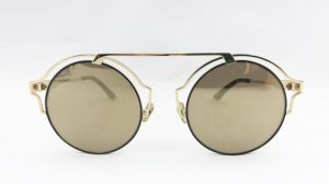 Fashion Round Shape Metal Sunglasses with Polarized Lens for Lady pictures & photos