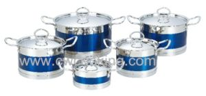 10PCS Stainless Steel Cookware Set with Ss Handle pictures & photos