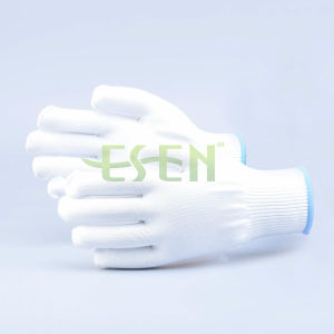Construction Using Garden Using Ecnomical Hand Gloves Polyester Glove pictures & photos