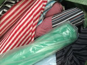 Polo Stripe Design Fabrics in Stocks pictures & photos