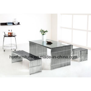 Wholesale Living Room Short Stainless Steel Chair (S1) pictures & photos