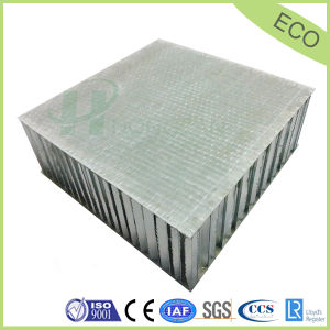 FRP Honeycomb Sandwich Panel for Container and Exterior Paneling pictures & photos