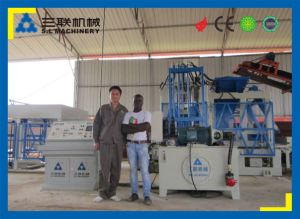 Automatic Concrete Brick Making Machine with CE Certificate pictures & photos