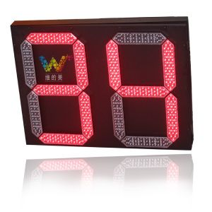 2 Digital Red Green LED Countdown Timer Traffic Light pictures & photos
