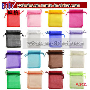 Premium Organza Wedding Favour Gift Bags Jewellery Pouches (W1021) pictures & photos