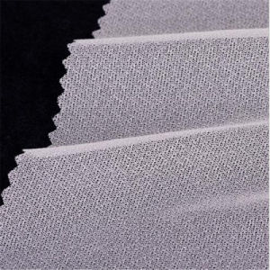Factory Tricot Woven Warp Knitted Interlining Fusible Interlining 2075 pictures & photos