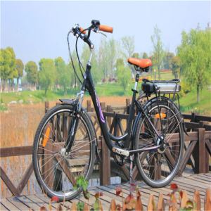 Woman 26′′ 36V 250W Ebike City Road Electric Bike Bicycle pictures & photos