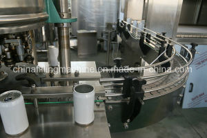 Automatic Aerated Drink Pop-Top Can Product Filling Machinery pictures & photos