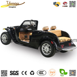 Electric Vintage Car Sightseeing Vehicle with Independent Suspension pictures & photos
