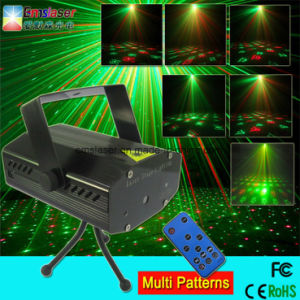 Disco Laser Light Mini Rg Laser DJ Disco Party Light 20 in 1 Stage Lighting Manufacturer pictures & photos