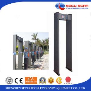 6 12 18 zones Walk Through Metal Detector Door AT-IIIA Archway metal detector pictures & photos
