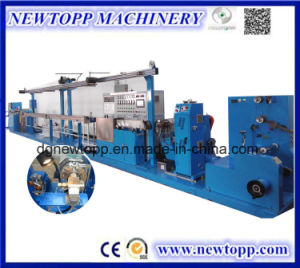 Teflon High Temperature Wire Cable Extruding Line pictures & photos